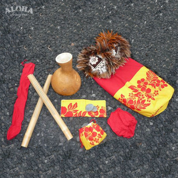 Hula Bag With All Implement Covers