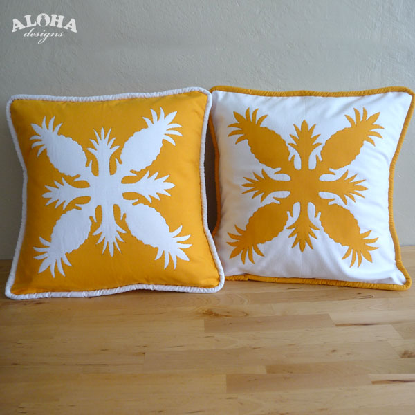 Aloha Designs Hawaiian Quilt Pillow Covers